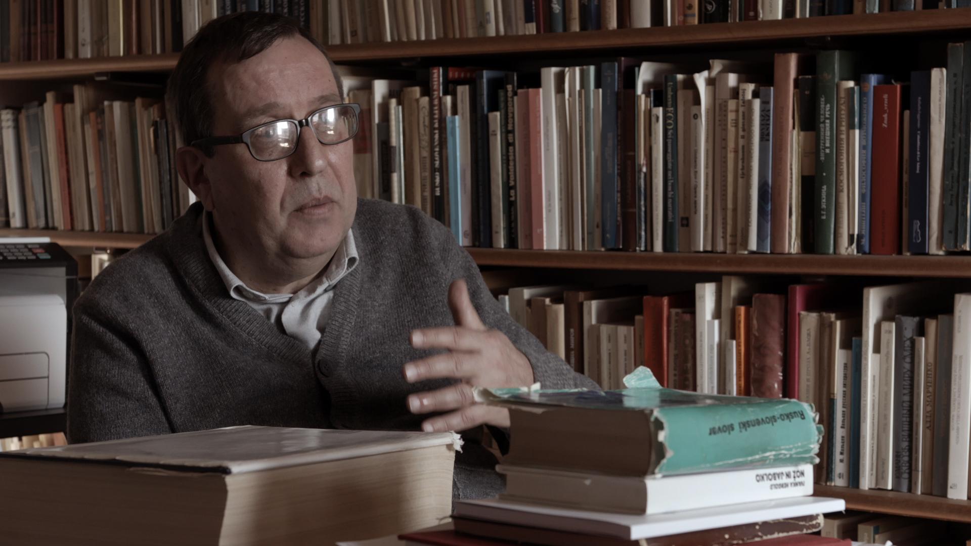 Ivan Verč, slavist (nastopajoči v filmu)