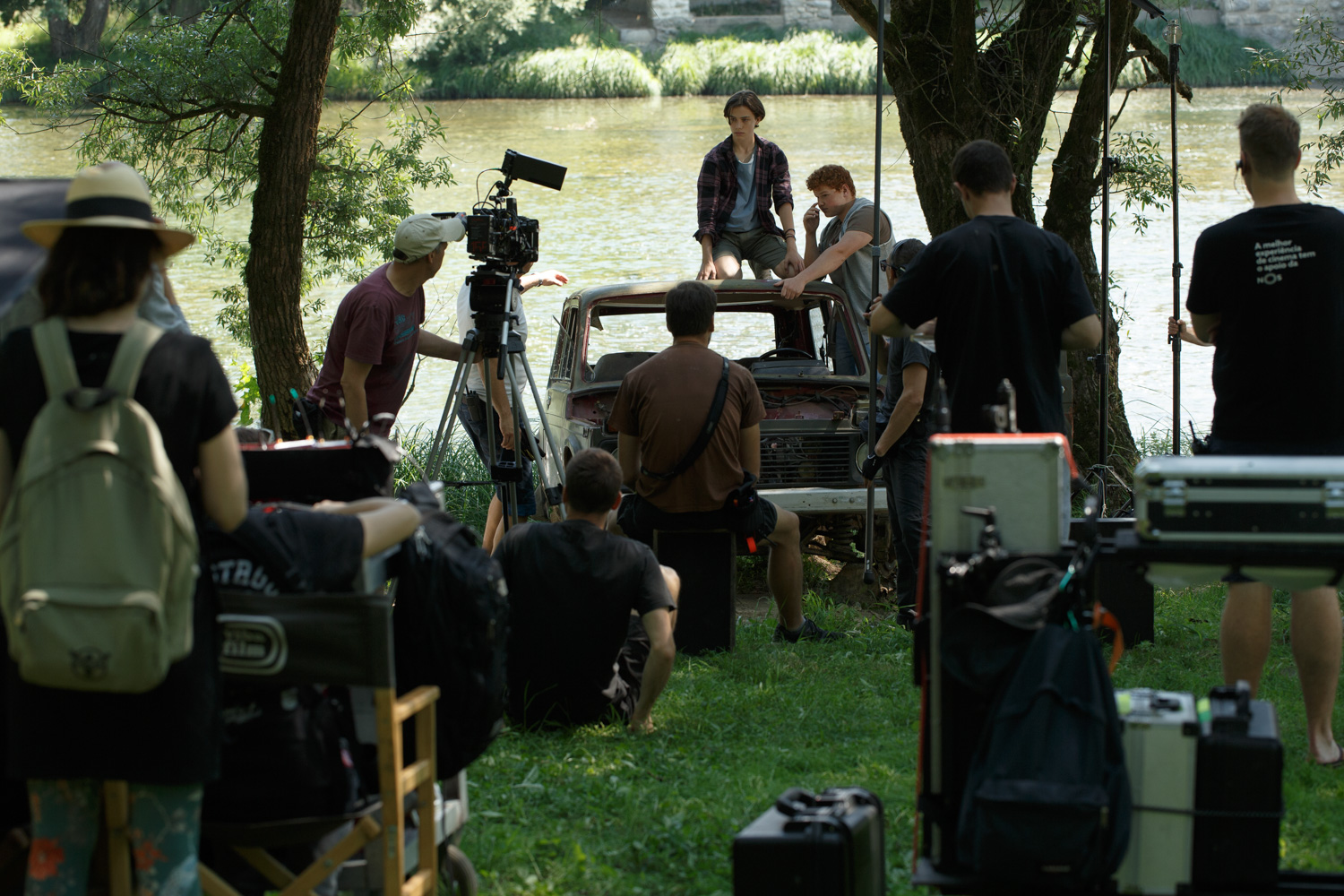 "The shooting of the feature ""Don't Forget to Breathe"" begins"