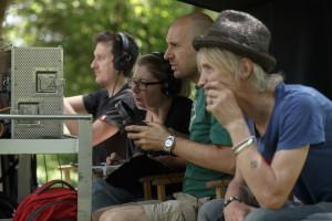 Ekipa na snemanju filma Ne pozabi dihati